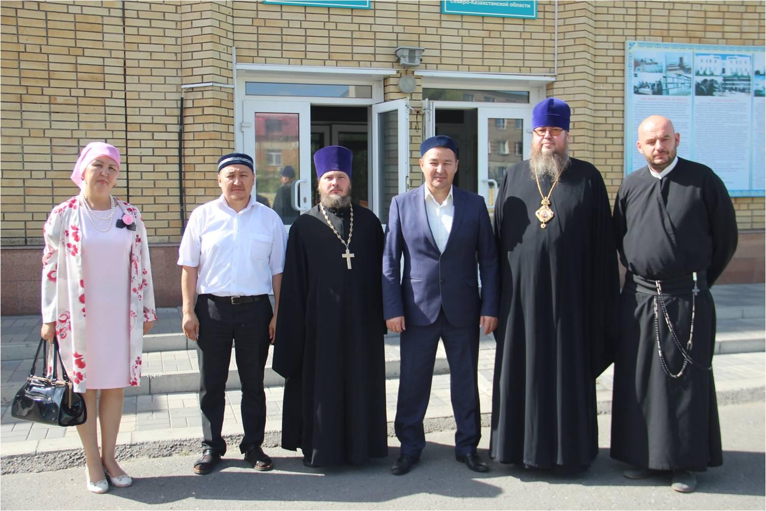 Фотогалерея основных событий Церкви Северного Казахстана в 2017 году