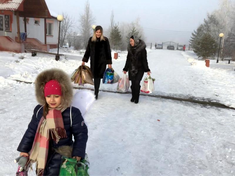 Добрые дела волшебной зимы