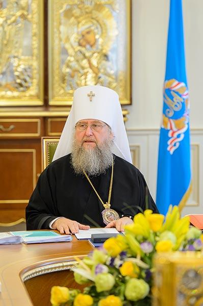 Преосвященнейший епископ Владимир принял участие в первом в этом году заседании Казахстанского Митрополичьего округа