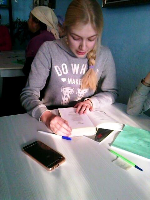«Тотальный диктант» состоялся в Михаило-Архангельском приходе села Пресновка