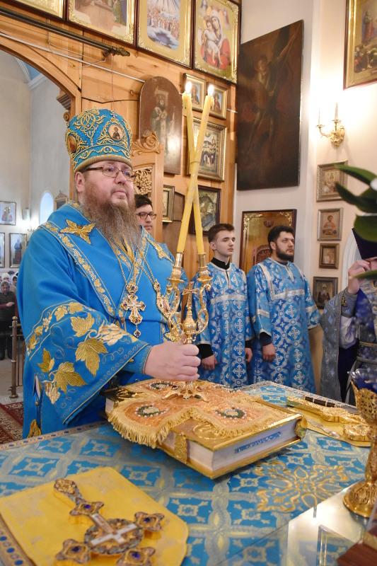 Праздник Сретения Господня в Кафедральном соборе