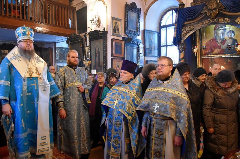 Архиерейское богослужение в Прощеное Воскресение