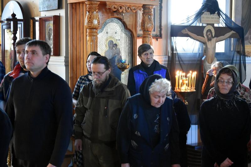 Великий покаянный канон в кафедральном соборе