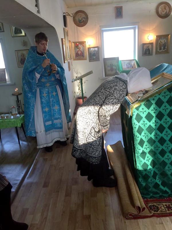 Неделя сыропустная в храме блж. Ксении Петербургской с. Петерфельд