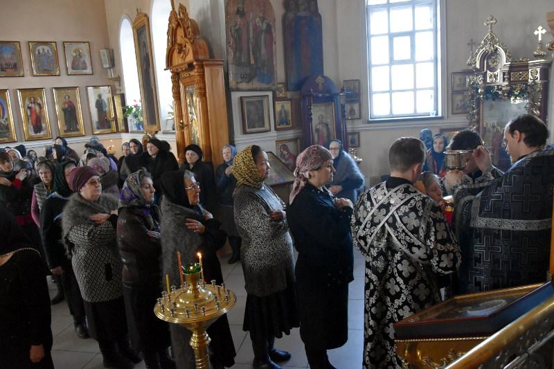 Архиерейское богослужение в пятницу I седмицы Великого Поста