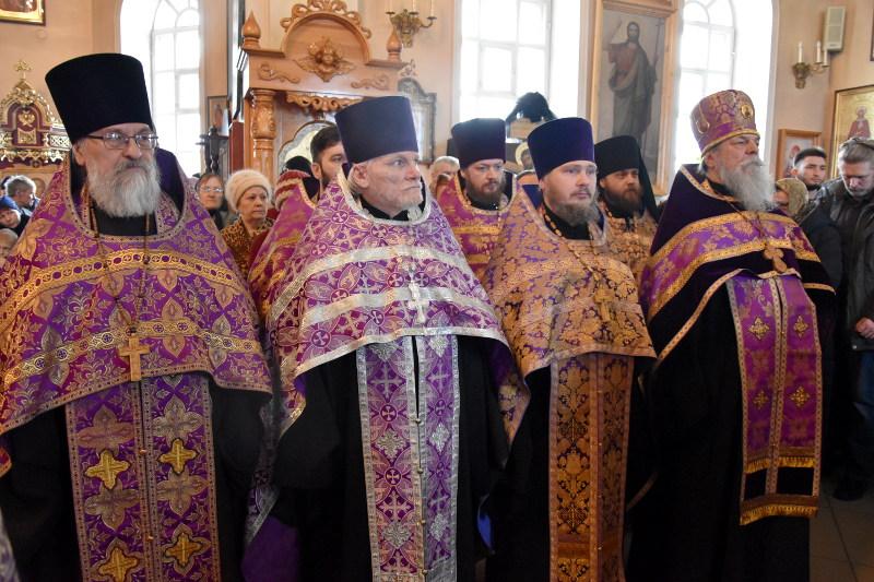 Преосвященнейший епископ Владимир возглавил Чин Торжества Православия