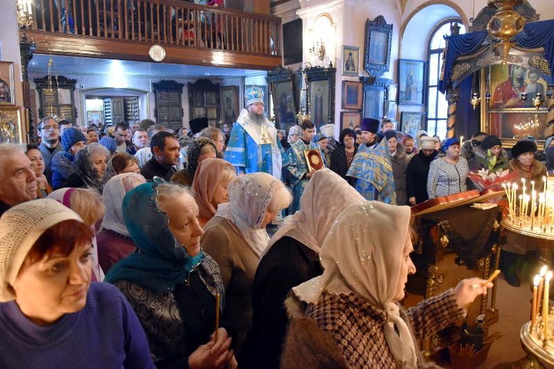 Архиерейское богослужение в первое воскресение Великого Поста