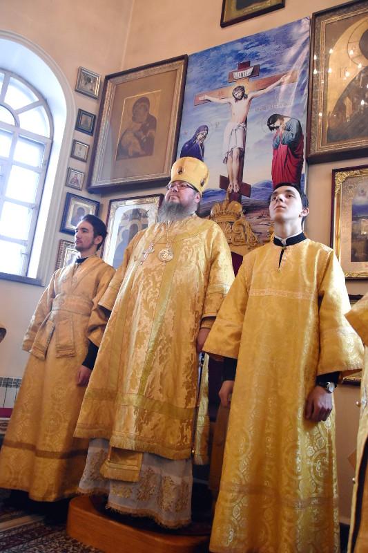 Архиерейское Богослужение во 2-ю Неделю Великого поста, Святителя Григория Паламы