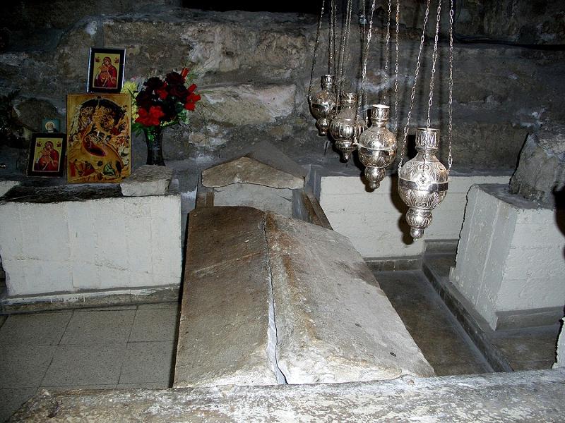 Гробница праведного Лазаря в церкви Святого Лазаря в Ларнаке