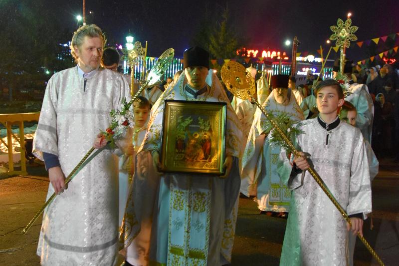 «Христос Воскресе!». Пасха в главном храме Северного Казахстана