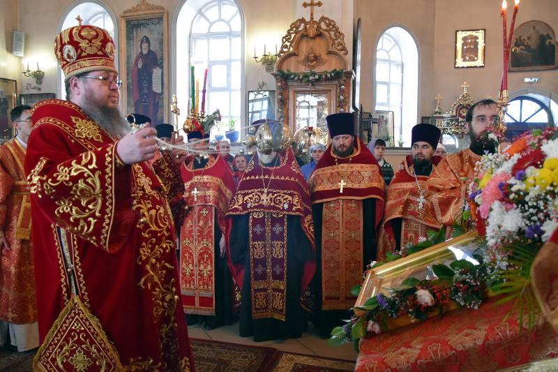 Духовенство Петропавловской и Булаевской епархии поздравило своего архипастыря с Пасхой Христовой