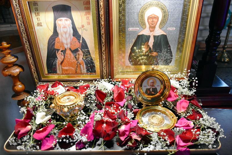 Архиерейское служение епископа Владимира в неделю Антипасхи