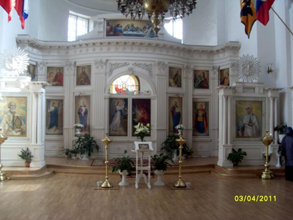 Церковь св. Марии Магдалины. Павловск. 2011