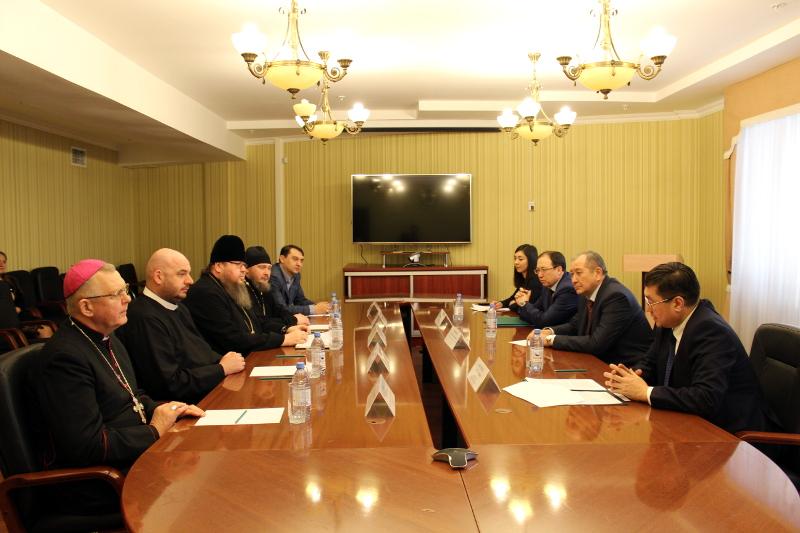 Встреча в Министерстве по делам религий в г. Астане