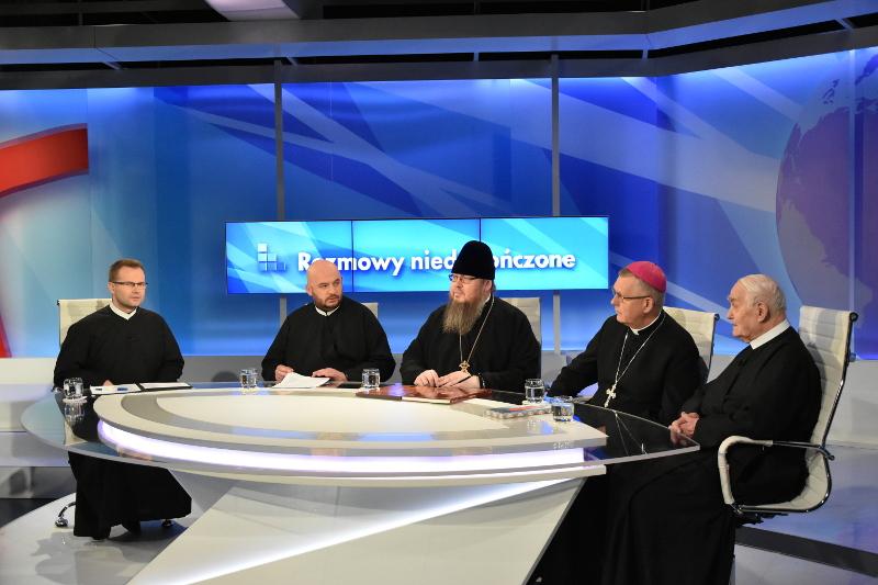 Выступление Преосвященного Владимира на польском телерадиоканале «Мария»