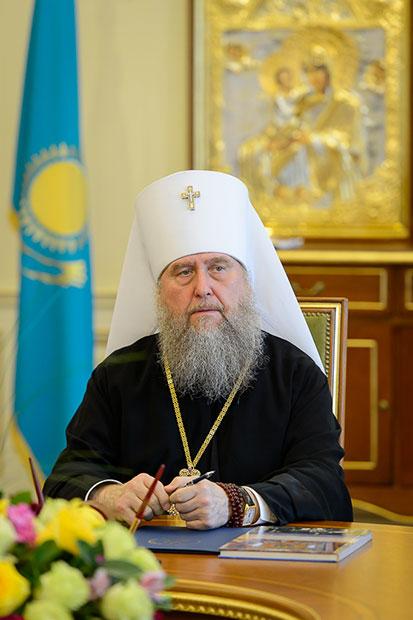 Преосвященнейший епископ Владимир принял участие в заседании Синода Казахстанского Митрополичьего округа