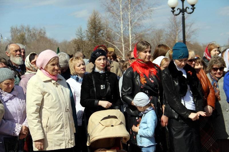 Панихида в Парке Победы