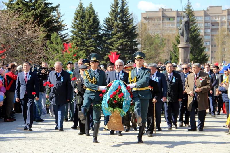 Священнослужители епархии приняли участие в акции памяти «Бессмертный полк»
