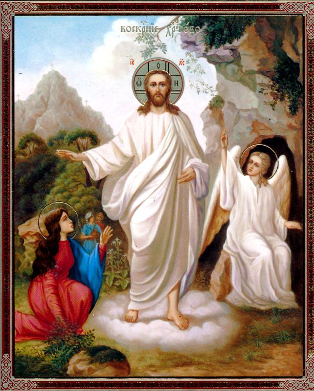 Утреня отдания Праздника Пасхи Христовой в Никольском храме с. Новоникольск