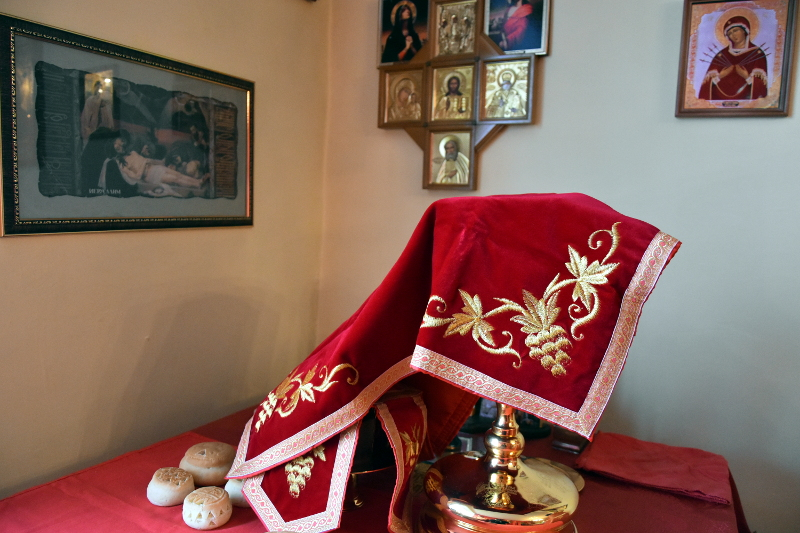 Архиерейское служение в праздник отдания Святой Пасхи