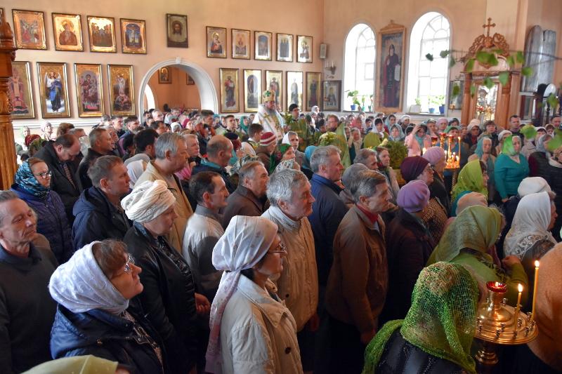 Праздник Святой Живоначальной Троицы в кафедральном соборе