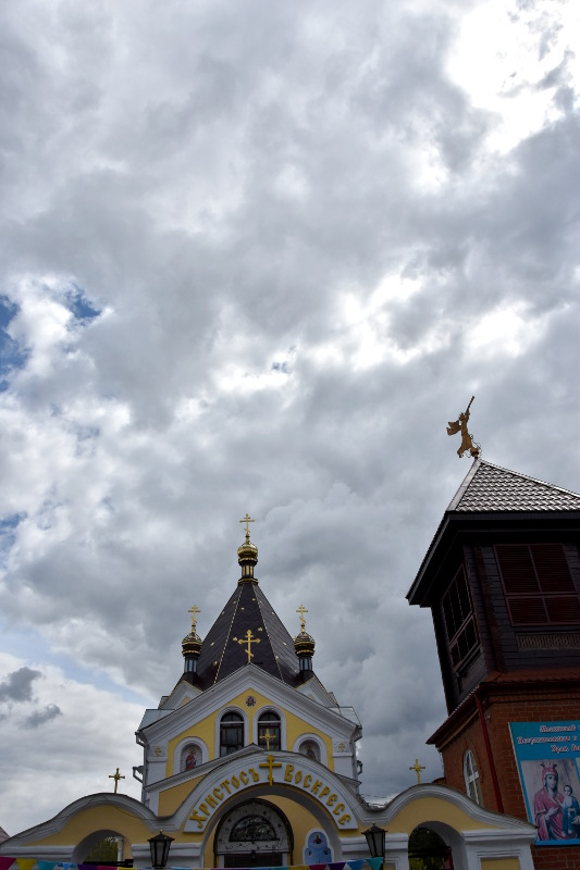 Престольный праздник храма в честь Всех Святых
