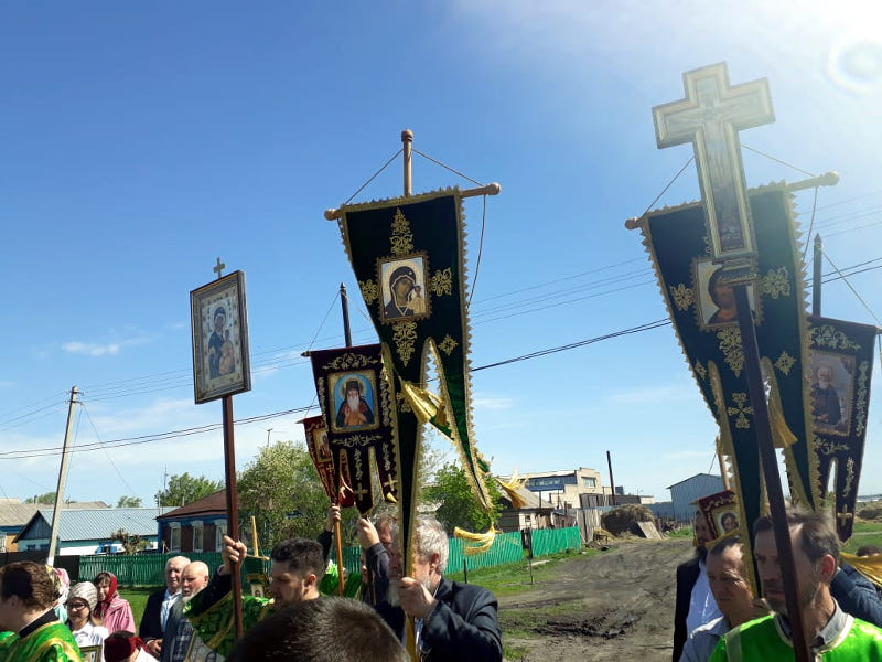 Престольный праздник храма в с. Петерфельд