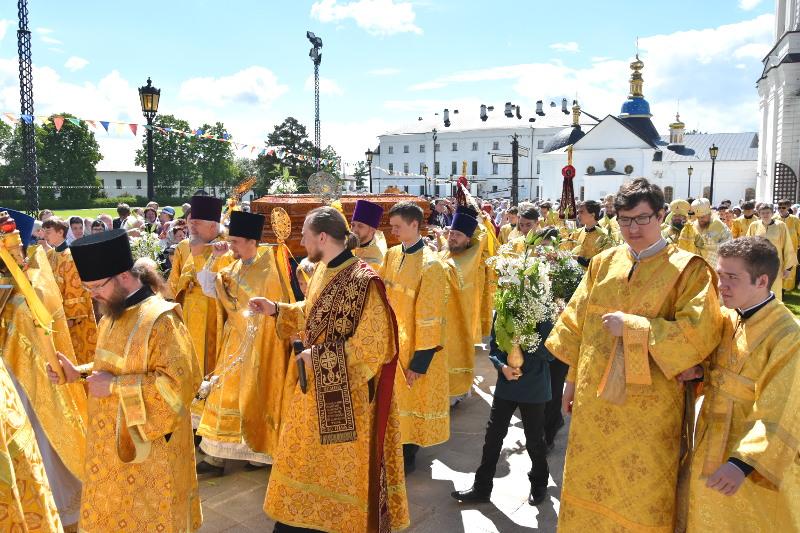 Преосвященный епископ Владимир принял участие в торжествах в честь святителя Иоанна Тобольского