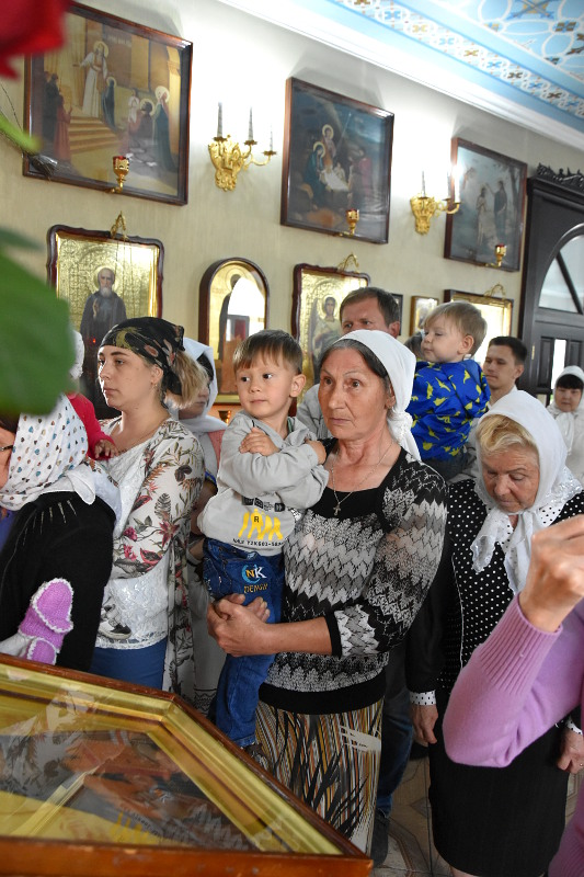Архиерейское богослужение в день прп. Онуфрия Великого