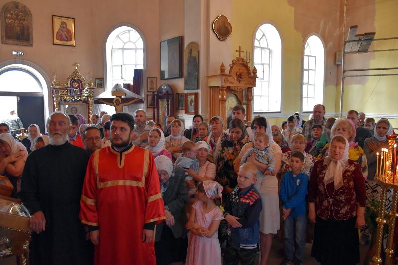 Архиерейская Литургия в день памяти Рождества Иоанна Предтечи