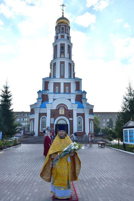 Богослужение в праздник святого Равноапостольного Великого князя Владимира, день тезоименитства правящего Архиерея