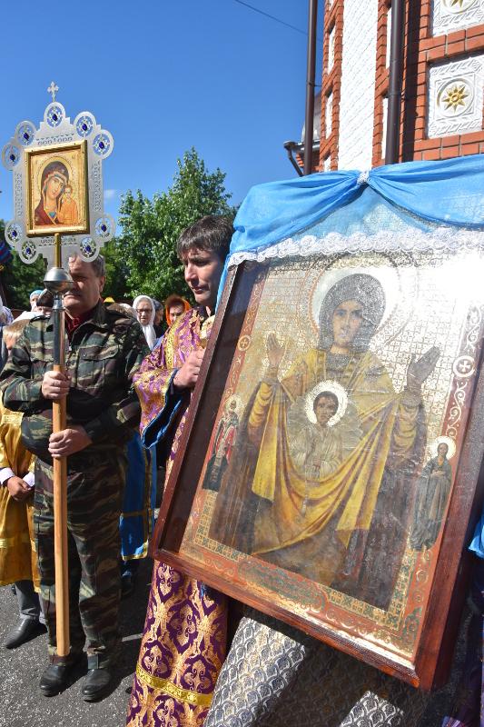 Торжества в селе Архангельское