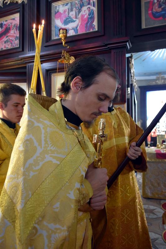 Архиерейская литургия в праздник святой Марии Магдалины (45 лет разрушения храма св. Марии Магдалины в Петропавловске)