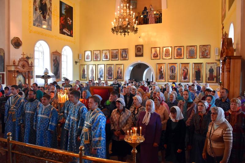Архиерейское служение в X неделю по Пятидесятнице