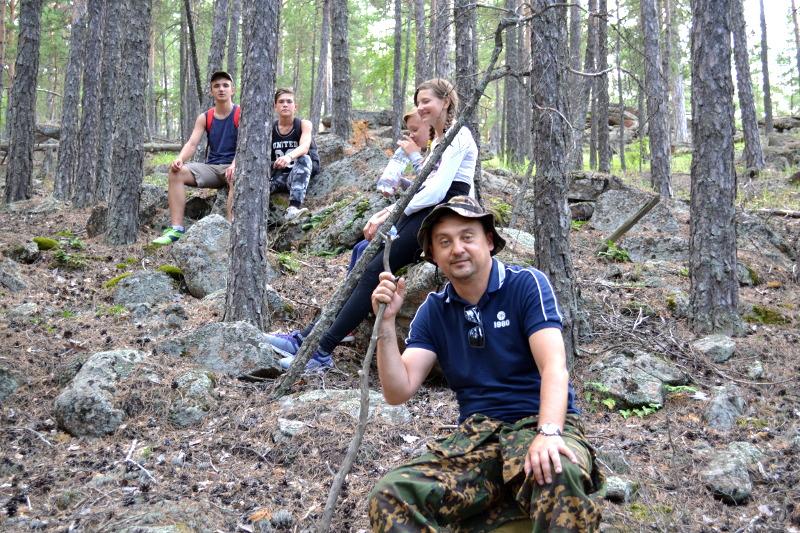 Горный лагерь православных скаутов «Бурабай 2018»