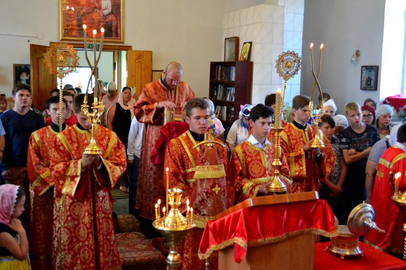 Престольный праздник храма поселка Боровое