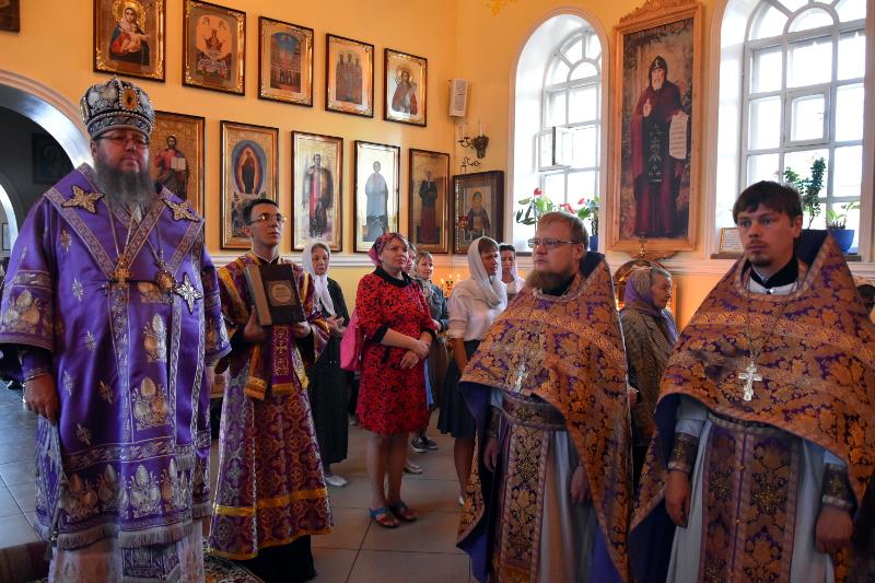 Праздник Всемилостивого Спаса в кафедральном соборе