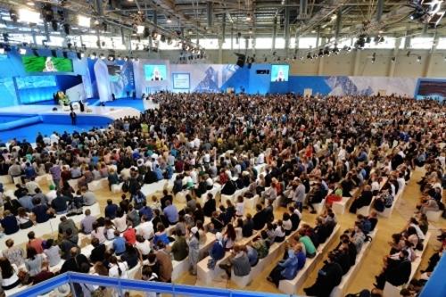 Представитель Петропавловской и Булаевской епархии принял участие в III Международном православном молодежном форуме