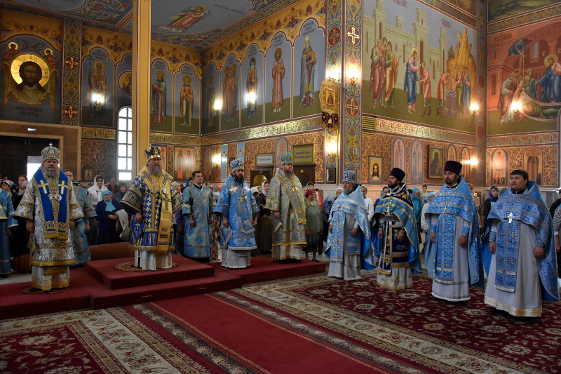 Правящий архиерей принял участие в торжествах проходимых в Астане
