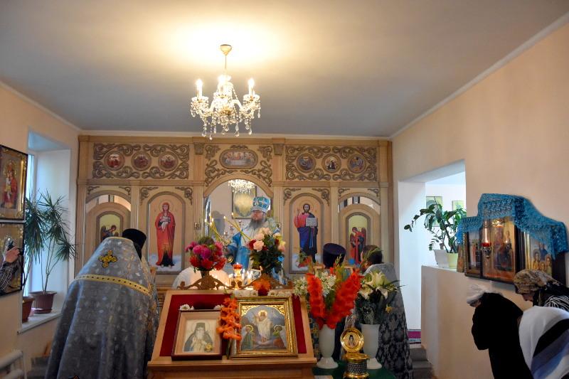 Архиерейское богослужение в Неделю 15-ю по Пятидесятнице