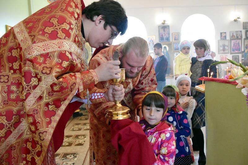 Архиерейское богослужение в день Усекновения Главы Иоанна Крестителя