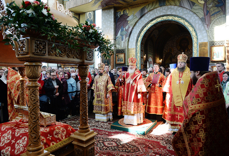 Патриаршее поздравление епископу Петропавловскому Владимиру с 50-летием со дня рождения