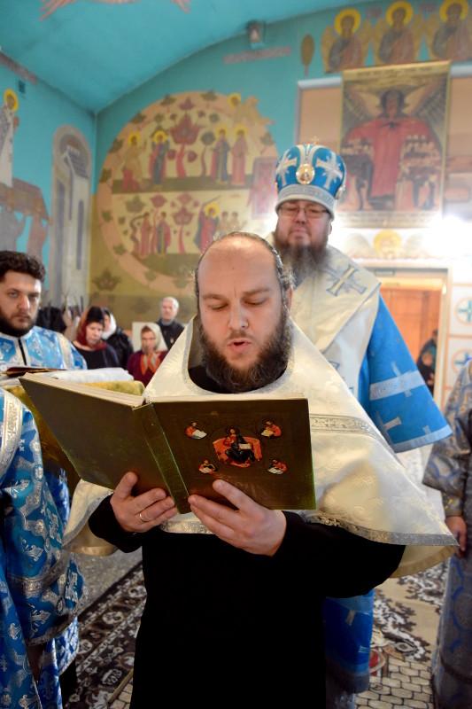Божественная Литургия в праздник Рождества Богородицы