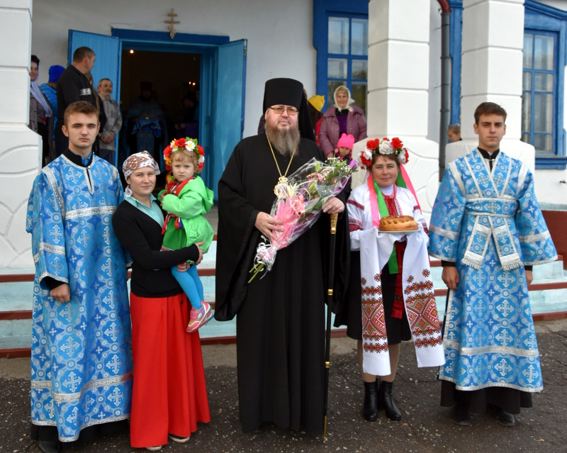 Празднование памяти новомученников и исповедников Казахстанских архиерейским чином состоялось в с. Большой Изюм