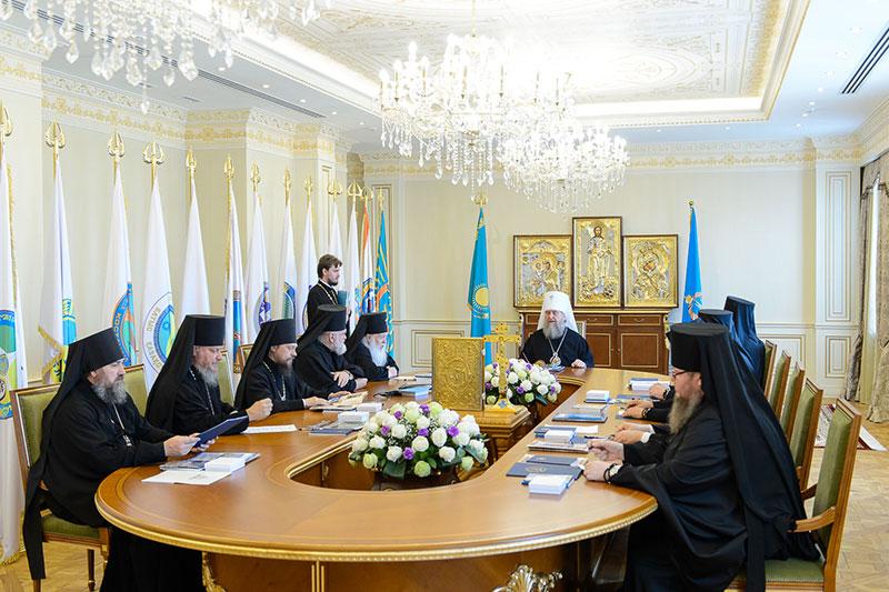 Синод Митрополичьего округа РПЦ в Республике Казахстан в Алма-Ате
