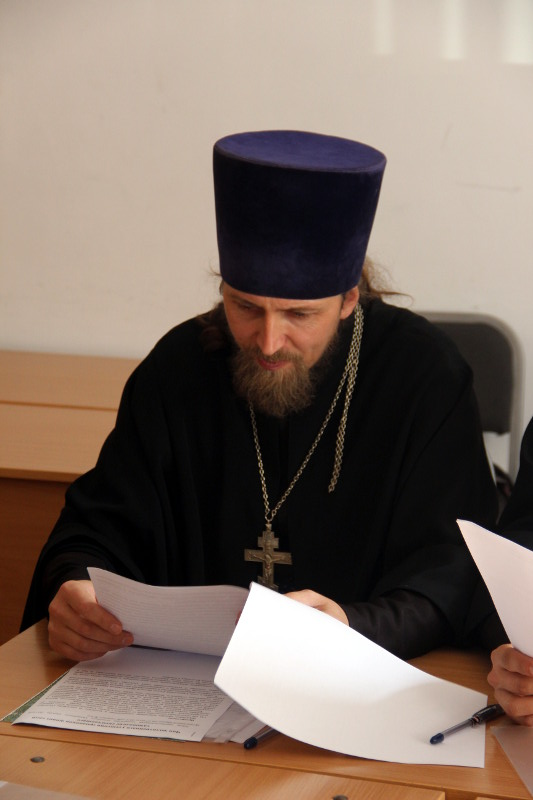 Присяга и первое заседание церковного суда