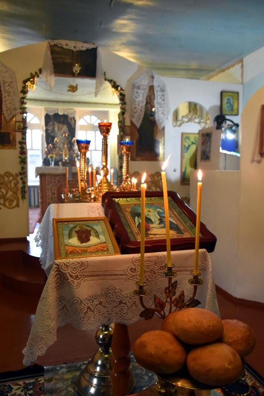 Архиерейское Всенощное бдение в Богоявленском храма села Явленка