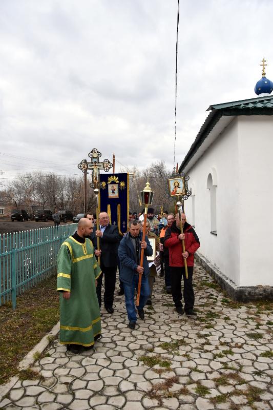 Престольный праздник в селе Повозочное