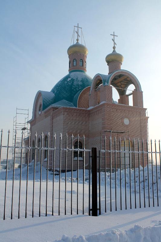 Освящение Севастиано-Магдалининского храма Петропавловска