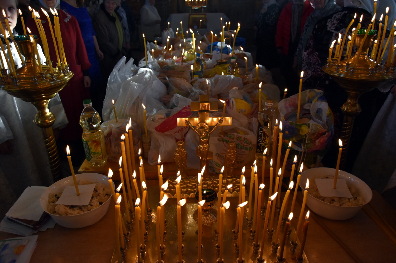Димитриевская родительская суббота в кафедральном соборе